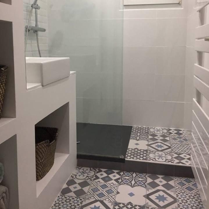 Rénovation pour cette salle de bain